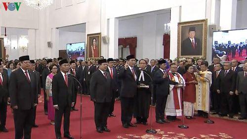 Indonesia công bố nội các mới nhiệm kỳ 2019-2024