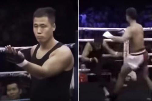 'Vịnh Xuân truyền nhân' Đình Hạo bị đá gục chỉ sau 70 giây