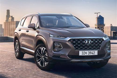 Top 10 xe SUV cỡ trung tốt nhất năm 2019: Hyundai Santa Fe thứ hai