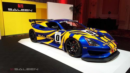 Saleen ra mắt xe đua GT4 Racing Concept