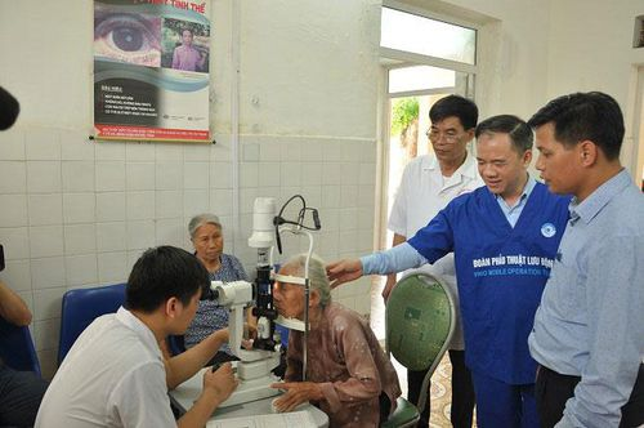 Bệnh viện Mắt trung ương không ngừng phát triển lớn mạnh