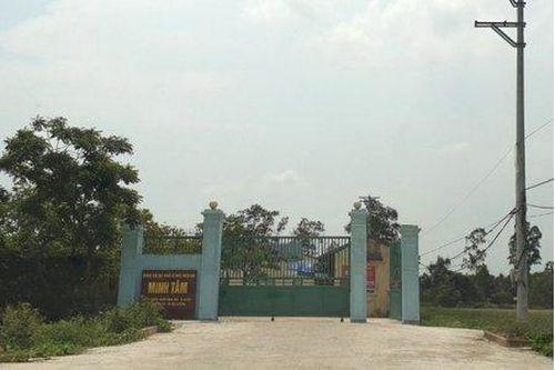 Trung tâm nhân đạo Minh Tâm xây dựng công trình khi chưa được cấp phép