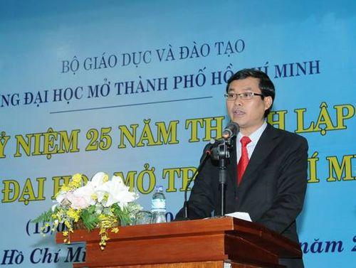 Bộ GD&ĐT phân công cán bộ phụ trách thay cố thứ trưởng Lê Hải An