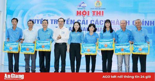 Khai mạc Hội thi tuyên truyền cải cách hành chính tỉnh An Giang năm 2019