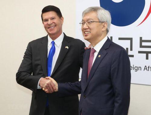 Hàn-Mỹ nhất trí thúc đẩy quan hệ kinh tế vì các sáng kiến khu vực