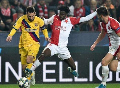 Kết quả Barcelona vs Slavia (0-0, cúp C1): Khi 'gã khổng lồ' bất lực