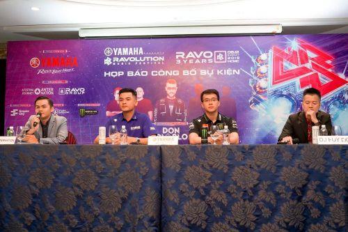 Yamaha Ravolution Music Festival mời 2 DJ top 10 thế giới về biểu diễn