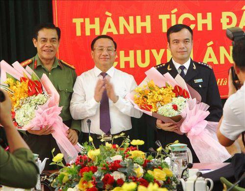 Bí thư Tỉnh ủy Hà Tĩnh biểu dương lực lượng phá chuyên án lớn về ma túy