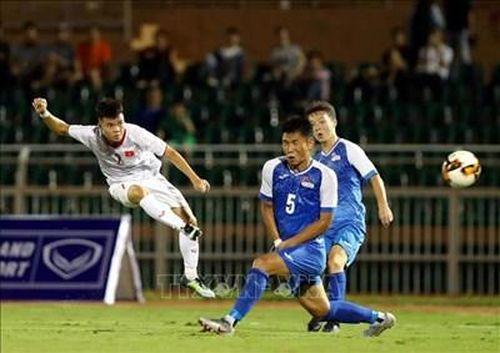 U19 Việt Nam giành chiến thắng 3-0 trước U19 Mông Cổ
