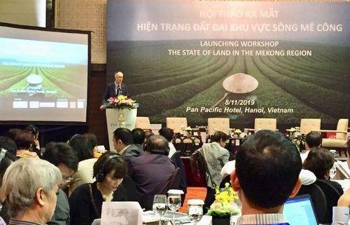 Công bố báo cáo mới về hiện trạng đất đai khu vực sông Mekong