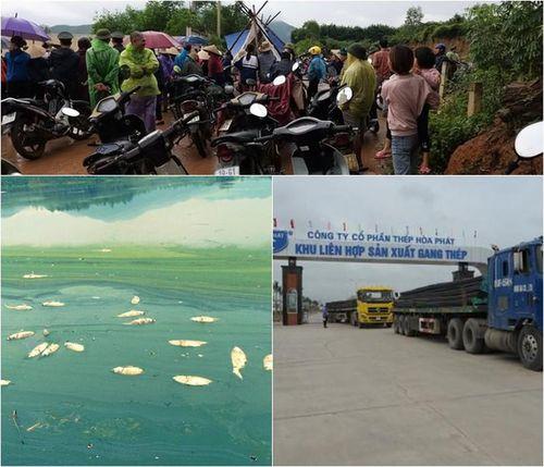 Tập đoàn Hòa Phát 'đẻ' Cty con ở tỉnh... đều dính 'án bức tử' môi trường?