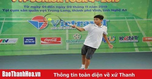 Thanh Hóa thống trị lứa tuổi 12 tại Giải quần vợt trẻ xuất sắc toàn quốc - tour 4, năm 2019