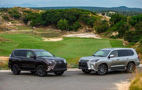 Khám phá bộ đôi SUV hạng sang Lexus GX460 và LX570
