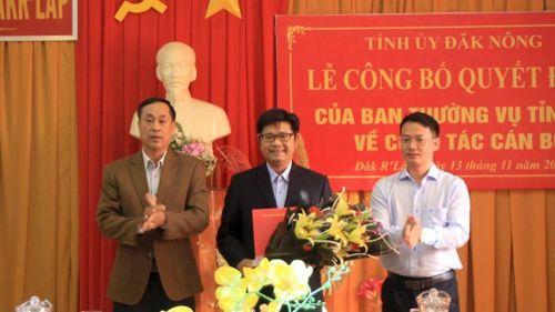 Phó giám đốc Sở GTVT Đắk Nông nhận nhiệm vụ mới