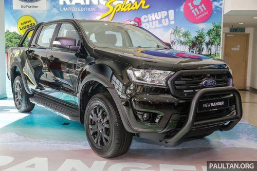 19 chiếc Ford Ranger Splash bản giới hạn đã có chủ