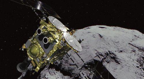 Tàu Hayabusa-2 quay về Trái đất