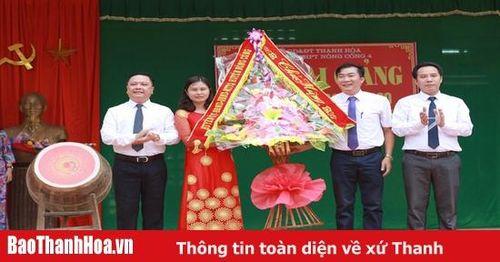Trường THPT Nông Cống 4 - 30 năm xây dựng và phát triển