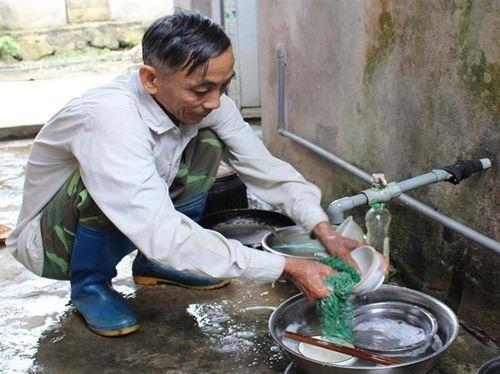 Nước sạch về vùng cao Đà Bắc