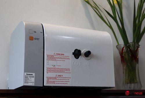 Mở hộp và đánh giá bình nước nóng Panasonic DH-15HAM – Bình nước nóng đầu tiên không cần bảo trì