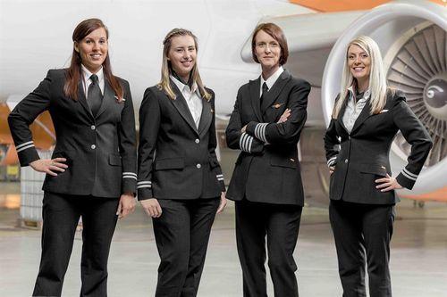 Vì sao có rất ít phi công là phụ nữ?