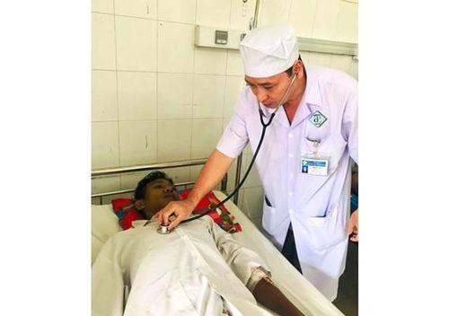 Cứu sống bệnh nhân bị nang giả tụy kích thước lớn