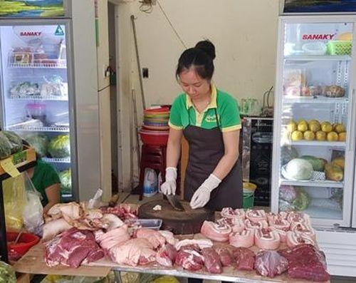 Giá thịt lợn chưa có dấu hiệu hạ nhiệt