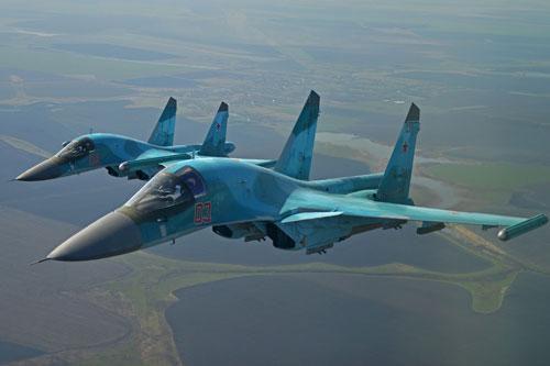 Đồng minh Mỹ sẵn sàng mua 'thú mỏ vịt' Su-34 của Nga