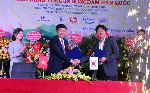 Trường cao đẳng đầu tiên tại Việt Nam đào tạo song bằng Việt Nam – Hàn Quốc
