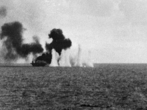 Bí ẩn chìm tàu trong Chiến tranh Thế giới thứ 2 chưa được giải đáp