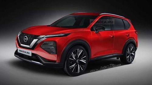 Lộ diện Nissan X trail thế hệ mới với thiết kế vô cùng ấn tượng