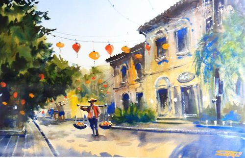 Phong cảnh Việt Nam dưới bàn tay họa sĩ trẻ người Nga