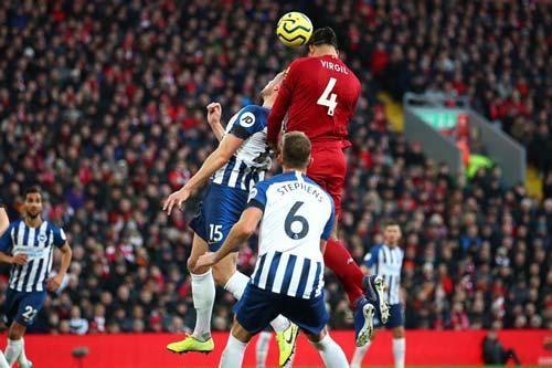 Liverpool 2-1 Brighton: Củng cố vững chắc ngôi đầu