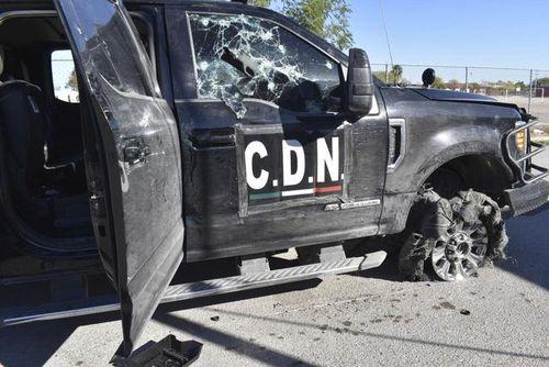 Cảnh sát Mexico đọ súng với băng đảng, ít nhất 20 người chết
