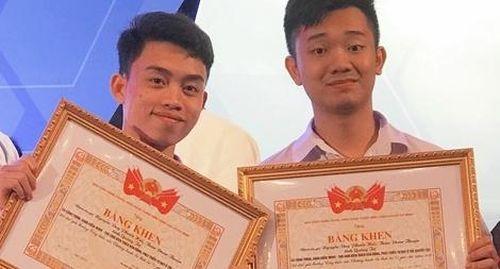 Hai học sinh sáng tạo phần mềm giúp trẻ khuyết tật não