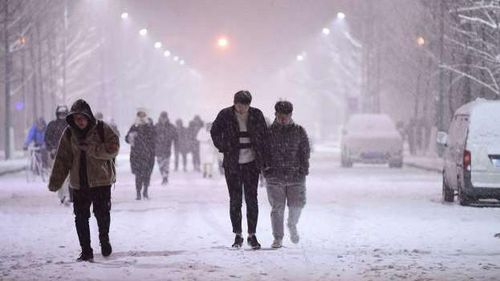 Những thành phố đã đón trận tuyết đầu đầu tiên trong năm 2019