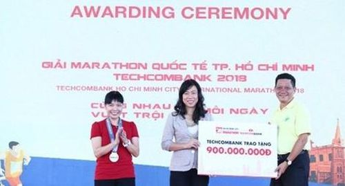 13.000 người tham dự Marathon quốc tế TP. HCM Techcombank 2019