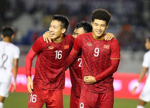 Đánh bại U22 Campuchia '4 sao', U22 Việt Nam hiên ngang vào chung kết SEA Games 30