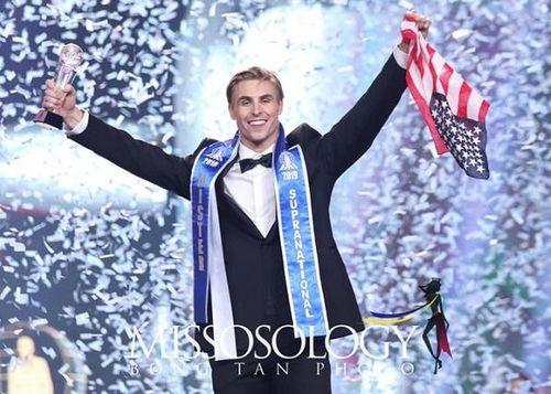 Chàng y tá Mỹ 1,93 m đăng quang Nam vương Siêu quốc gia 2019