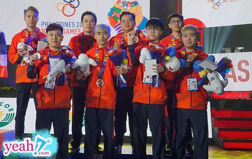 Đội tuyển Liên quân Mobile Việt Nam xuất sắc giành huy chương đồng tại Sea Games 30
