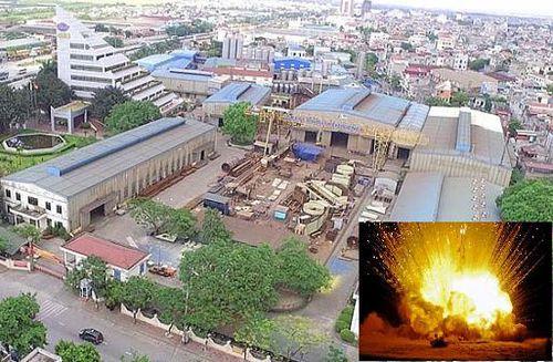 Năm người thương vong sau tiếng nổ kinh hoàng tại nhà máy Lilama 69-3