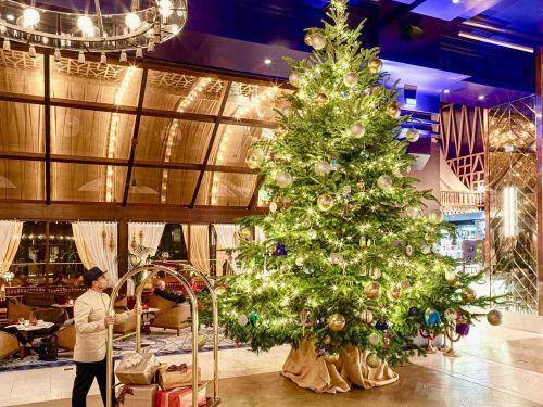 Cây thông Noel đắt nhất thế giới, treo đầy kim cương giá 347 tỉ đồng