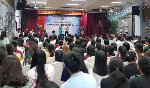 Chung kết cuộc thi Khởi nghiệp Quốc gia 2019 tại TP. Hồ Chí Minh