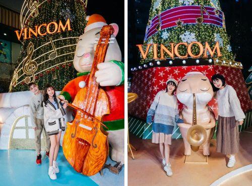 Tại sao các TTTM Vincom luôn là điểm đến không thể bỏ qua mỗi mùa Giáng Sinh tại Hà Nội?