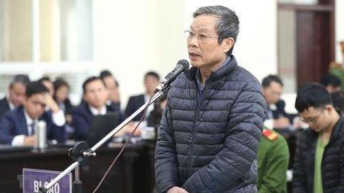 Ông Nguyễn Bắc Son phủ nhận một số tình tiết vụ AVG