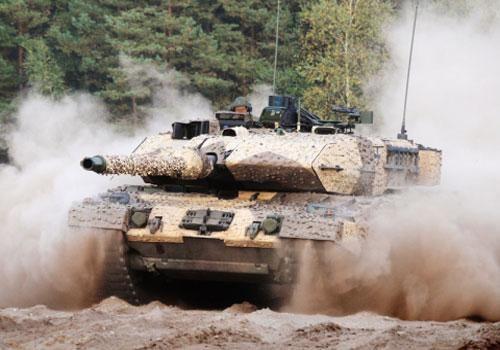 Mang pháo 140mm, tăng Đức có đấu được với Armata?