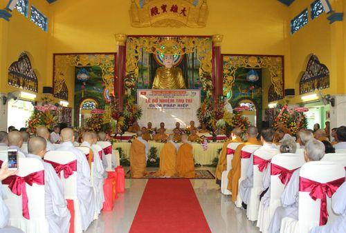 Lễ bổ nhiệm trụ trì chùa Pháp Hiệp (H.Củ Chi)