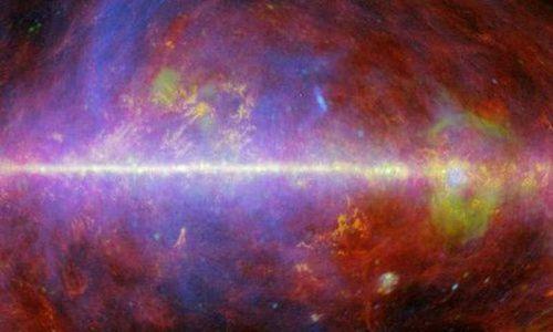 Khám phá cực bất ngờ về từ trường thiên hà Milky Way