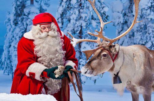 Giáng sinh tại nơi sinh sống và làm việc của ông già Noel