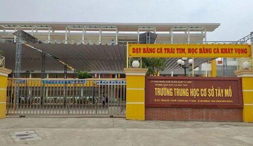 Nam Từ Liêm – Hà Nội: Nhiều bất thường công tác đấu thầu tại trường THCS Tây Mỗ?