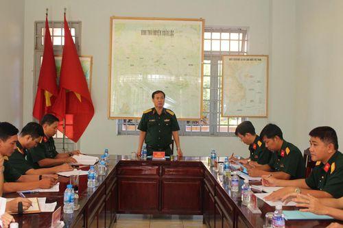 Xuân Lộc sẵn sàng cho công tác tuyển quân năm 2020